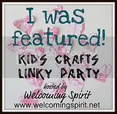 Welcoming Spirit Kid's Crafts Linky Party