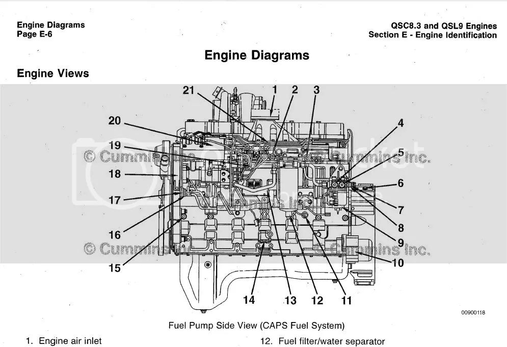 cummins engine wiring diagram