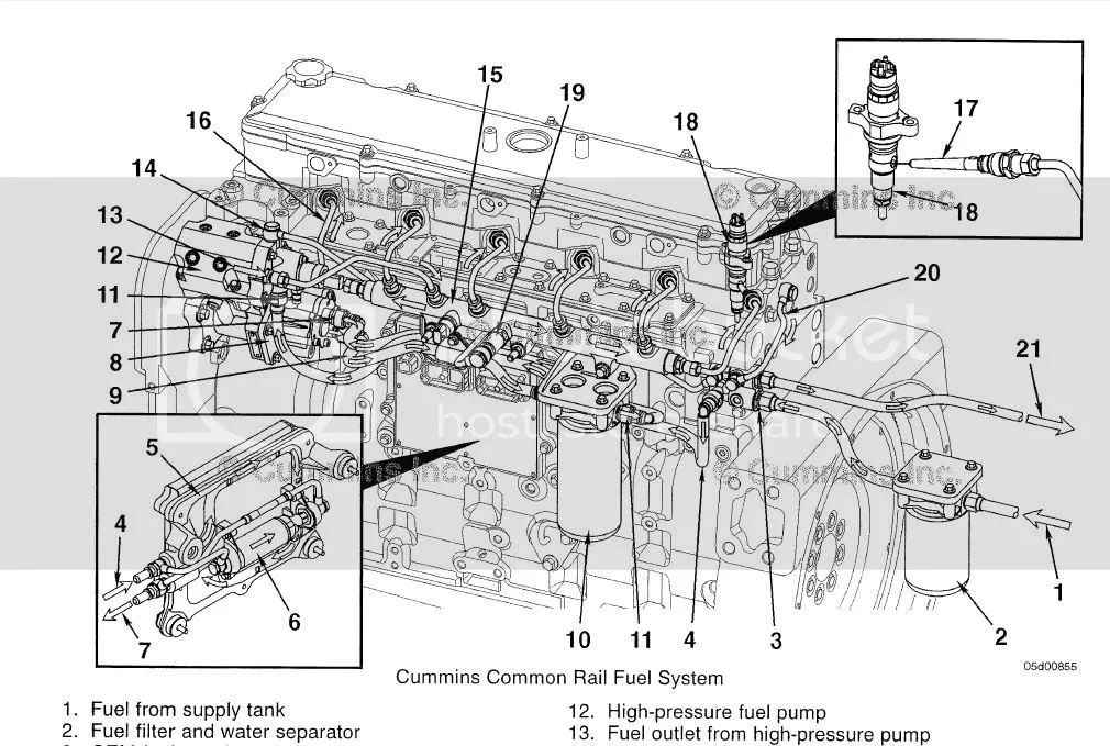 cummins ecm wiring diagram 4 5 engine