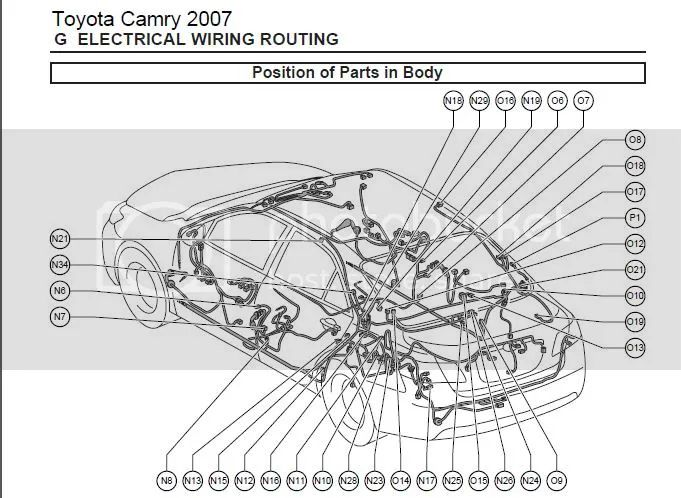 2007 camry electrical wiring diagram