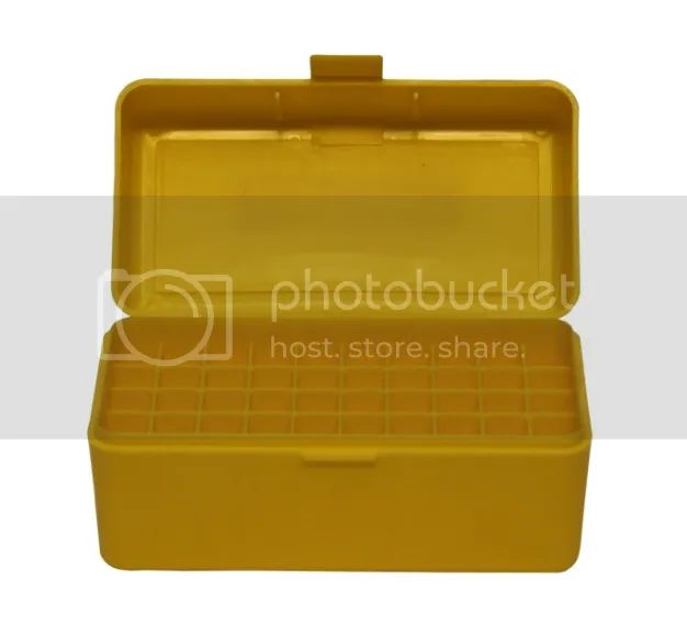 New plastic rifle ammunition box 50rnd capacity 243 308