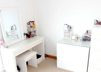 Updated Makeup Storage | IKEA Malm & Muji | Couture Girl