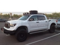 Toyota tundra factory roof rack