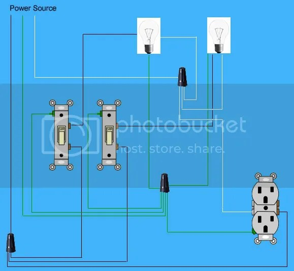 Double Gang Switch Box Wiring - Wiring Diagrams