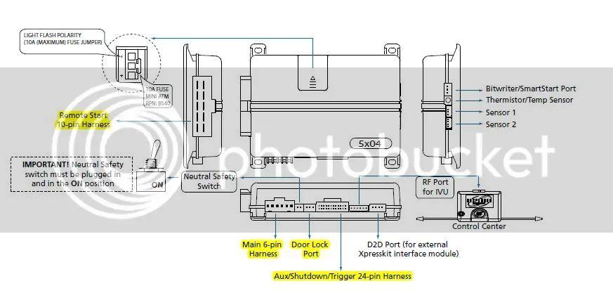 viper remote start wiring diagram