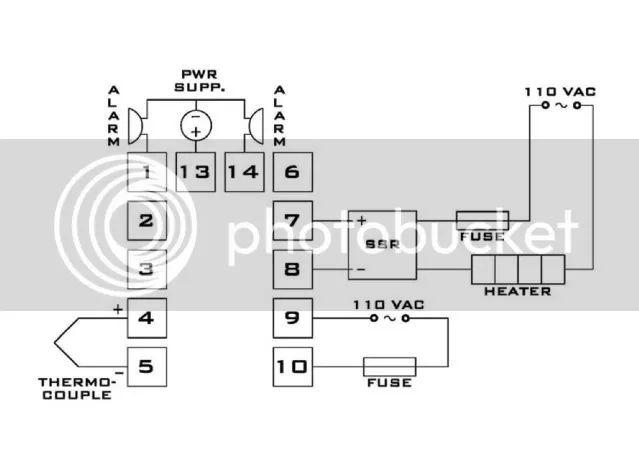 240v pid wiring diagram