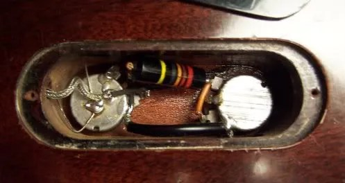 50\u0027s Wiring For 1 Volume and 1 Tone