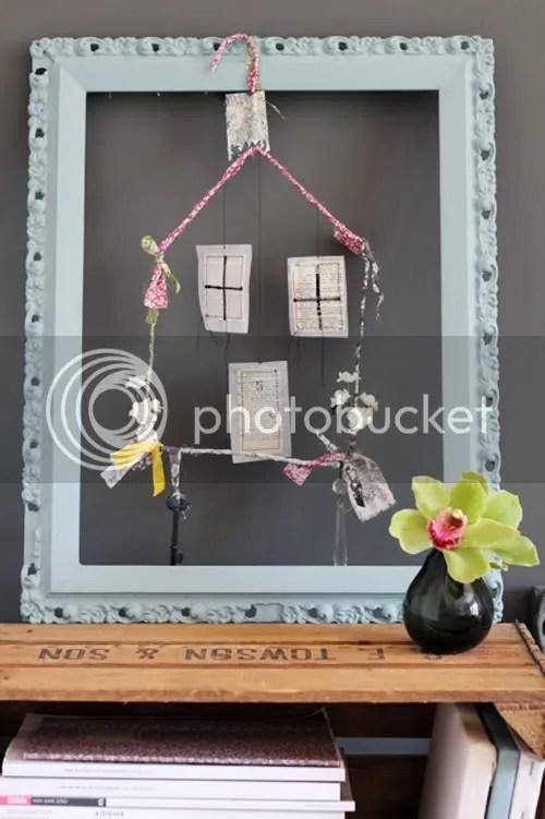 DIY: Little House Mobile