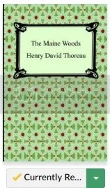 The Maine Woods image from Goodreads