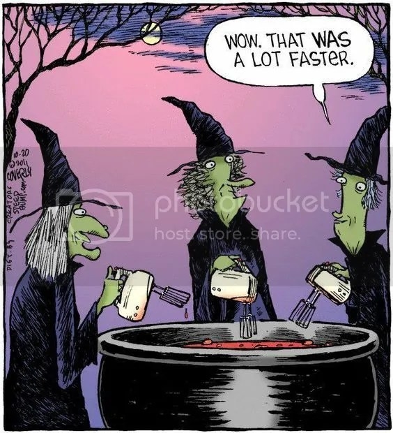 Witch brew humor