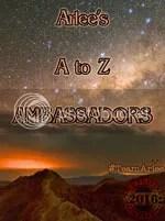 #TeamArlee Arlee's #atozchallenge Ambassador badge 2016 @JLenniDorner