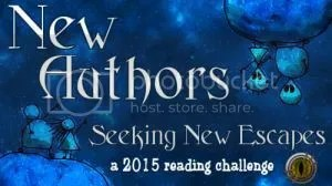 New Authors seeking New Escapes 2015 reading challenge