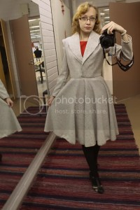 Ladylike Delicacy: SEWING : Trying out a shawl collar and ...