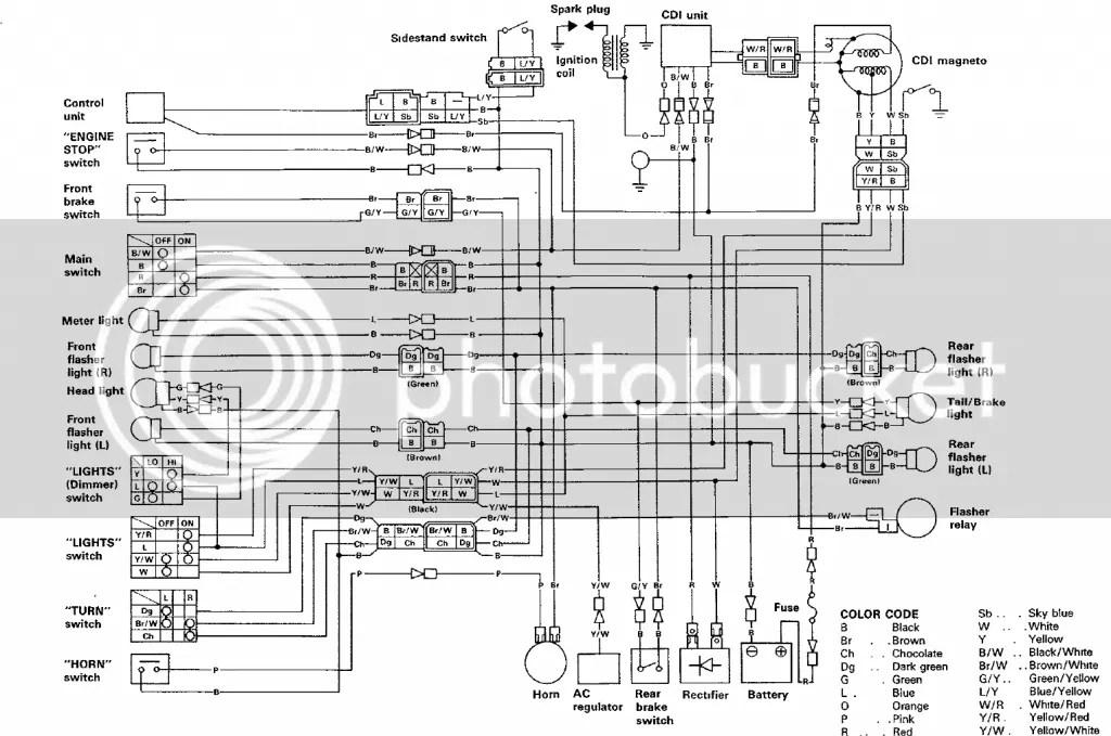 Yamaha Xt350 Wiring Diagram | Wiring Diagram on
