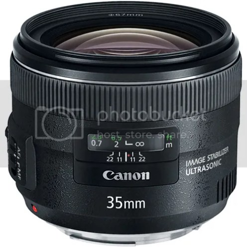 Canon EF 35mm f/2 IS