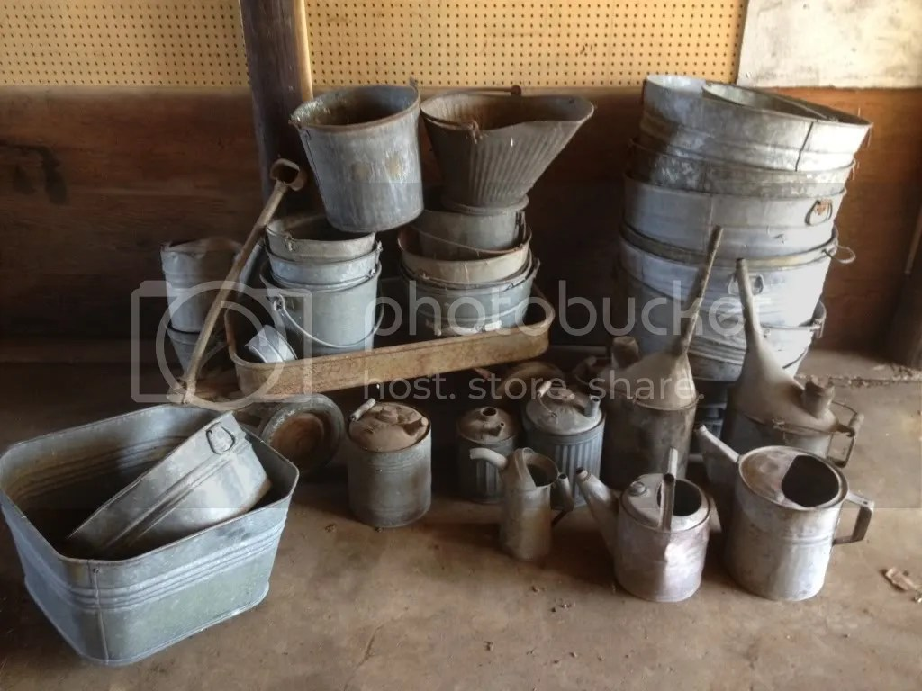 Watering Cans With Long Spouts Galvanized Tubs Buckets Watering Cans Etc Photo By