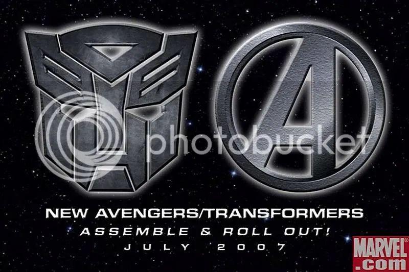 New avengers vs transformers really new avengers