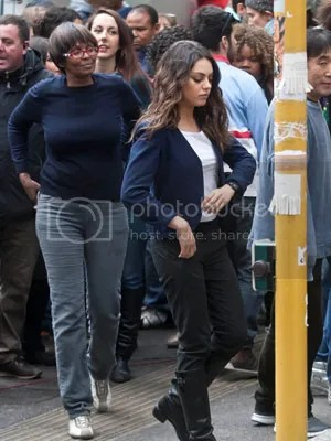Mila Kunis Third Person Photo Set Rome New York