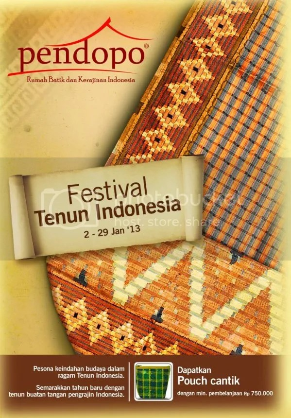 Festival Tenun Indonesia Pendopo