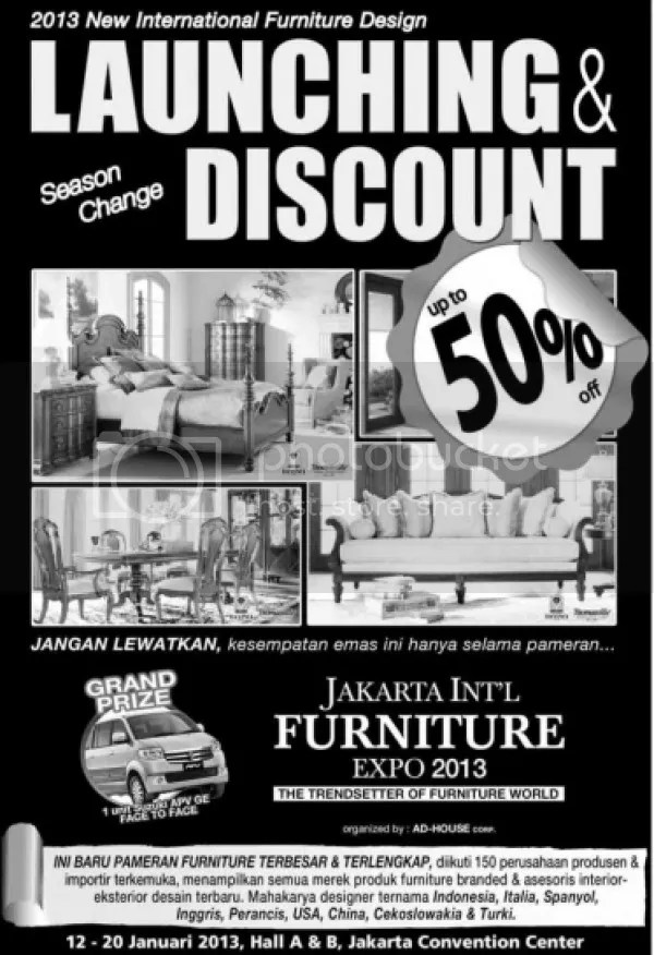 Jakarta International Furniture Expo 2013