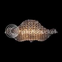 L53cm - Designer Crystal Lamp Ceiling Light Chandelier ...