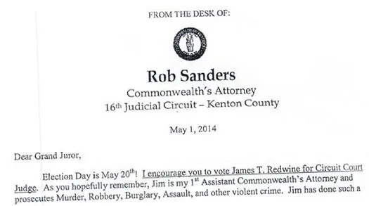 In Kenton Judge\u0027s Race, Prosecutor Endorses Candidate to Former