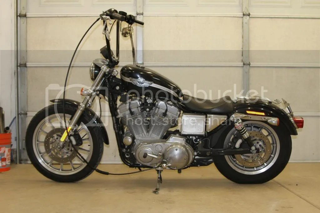 Rigid_EVO Sportster Cafe Build - Burly Brand - The Sportster and