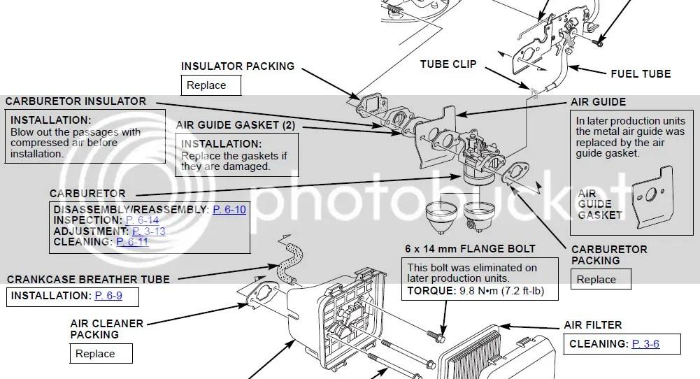 HONDA Engine GCV160 Hunting -