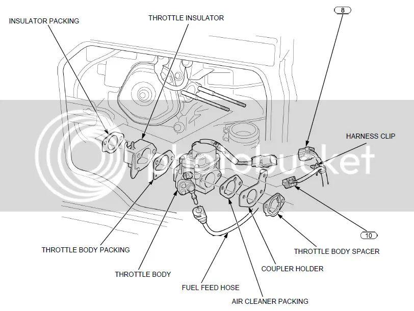 honda future 125 engine diagram