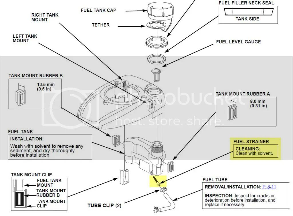 snowblower fuel filter location