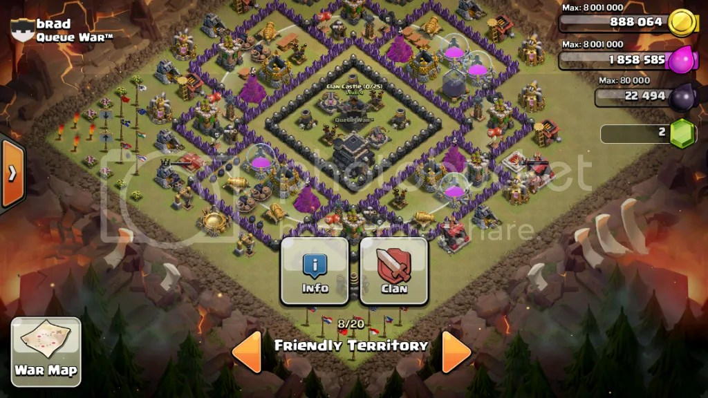 Collection of pertahanan coc th 6 hybrid and decorating tips for your