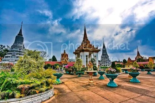 tour campuchia du lich hoang cung tct Tour du lịch Campuchia: Sài Gòn   Angkor Thom   Hoàng Cung