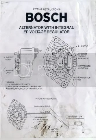 Bosch Al82n Alternator Wiring Diagram Wiring Schematic Diagram