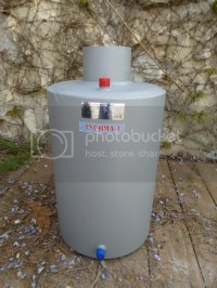 Water Heater Boiler for Wood Burning Stove Flue Pipe Water ...