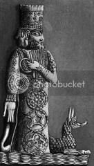 Dewa Marduk yang menciptakan semesta dan manusia melalui pertempuran penuh darah