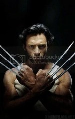 Wolferine, manusia mutan dalam film The X-Men.