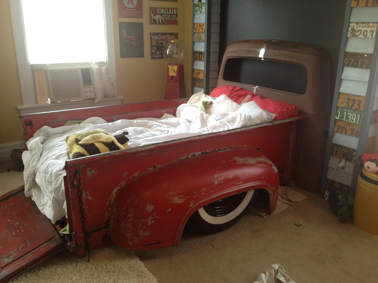 Classic Car Wallpaper For Bedrooms Bedroom Set Out Of 1956 Ford Truck Bed Page 4 The H A M B
