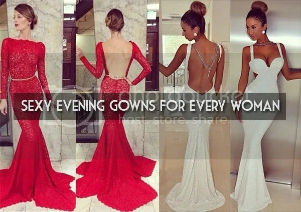 Sexy Evening Gowns For Every Woman