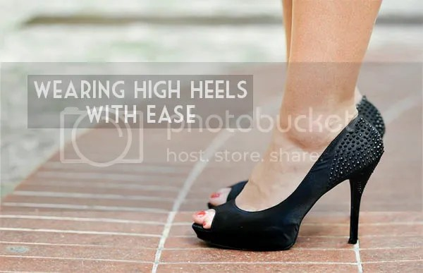 Wearing High Heels With Ease
