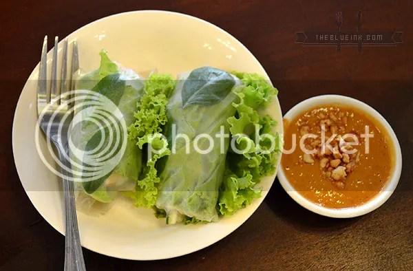 Goi Cuon - Enjoy Sumptuous Food At Rau Ram (Saigon) Vietnamese Cafe In Bacolod City