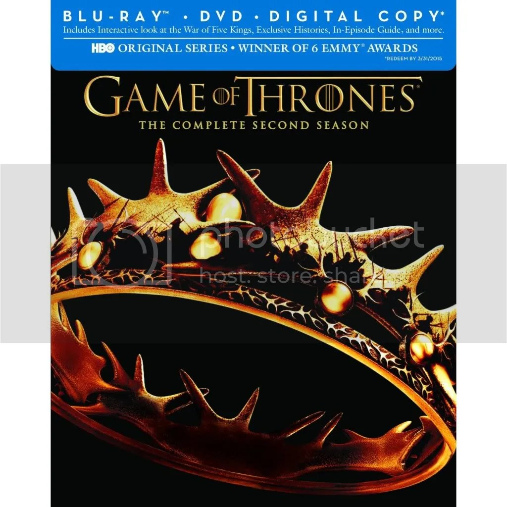 Game of Thrones Season 2 Blu Ray and DVD Release Date