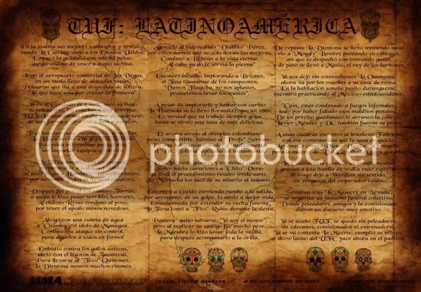 Calavera a TUF Latino MMASPORTCENTER 2014