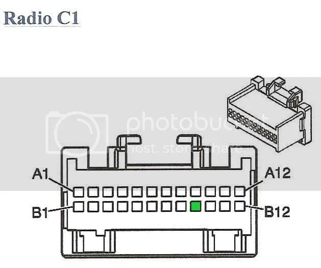 gm radio harness 24 pin diagram