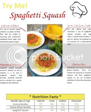 Spaghetti Squash Pamphlet