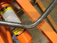 Harbor Freight pipe bender modified for bending tube ...