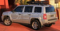 Jeep Patriot Roof Rack Safari Style Jeep Patriot Roof Rack ...