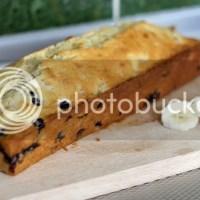 RECEPT: bananencake met blauwe bessen
