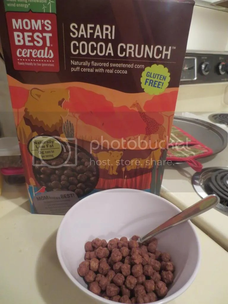 Moms Best Product Review Mom S Best Safari Cocoa Crunch The Celiathlete