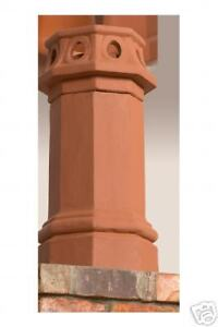 Beautiful Chimney Pots Authentic Terra Cotta Fit For A