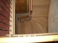 3 winder staircase in pine made to measure(delivery ...